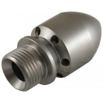Male Cylinder Style Sewer Nozzle 1/2""