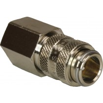 "Series 21 Quick Release Coupling with NRV 1/4"" F"