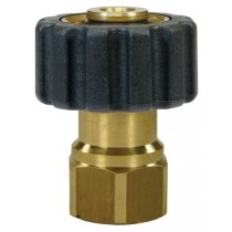Quick Screw brass coupling Female to Female