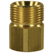 Screw brass coupling Female to Male