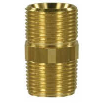 Screw brass coupling Male to Male