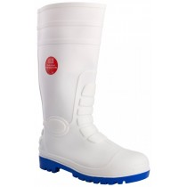 White Safety Wellington Boot