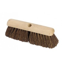Soft Natural Coco Platform Broom Head 18""