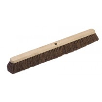 Soft Natural Coco Platform Broom 24""