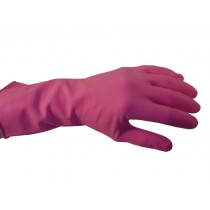 Red Household Rubber Gloves