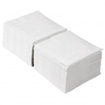 Cocktail Ice White Serviettes 2ply 24cm