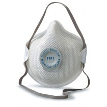 Face Mask FFP1 Rated, Valved x 20