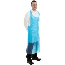 Disposable PE Apron Flat Pack (W)69cm (L)122cm