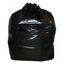 Black Refuse Sacks 300 Gauge x 100
