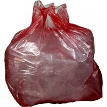 Red Refuse Sack  x 200