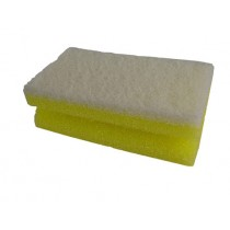 Scouring Pad Sponge Backed