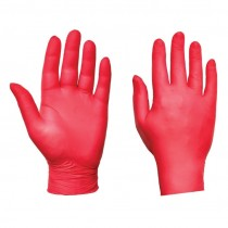 Powder Free Red Ultra Nitrile Glove 200pcs