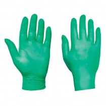Ultra Nitrile Powderfree Green Disposable Glove