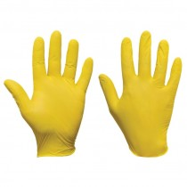 Powder Free Yellow Ultra Nitrile Glove 200pcs