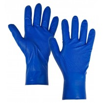 Nitrile Blue Fish Scale Disposable Gloves