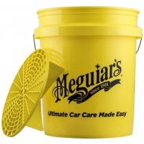 Meguiar's bucket with grit guard insert