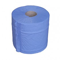 Paper Centrefeed Blue 1ply 6 rolls