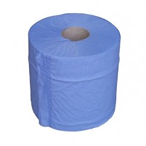 Paper Centrefeed 2ply 150m(L) 175mm(W) Blue