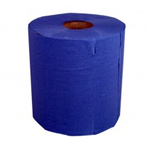 Paper Centrefeed Blue 1 Ply Pack 6