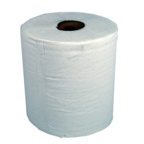 Paper Centrefeed White 1 Ply Pack 6