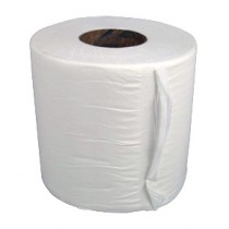 Paper Centrefeed White 2 Ply Pack 6