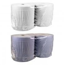 Industrial Wiping Paper 2 Ply (W)28cm (L)400m (2 Rolls)