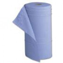 Paper Couch Roll Blue 2ply 50cm wide Pack of 12