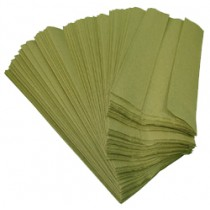 Paper Hand Towel Green C-Fold 1ply, 3000 sheets