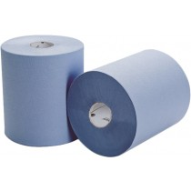 North Shore 2 Ply Roll Towel Blue