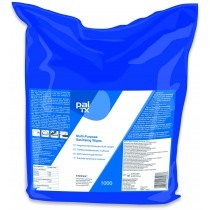 Multi-Purpose Sanitiising Wipes 1000 (Bag)