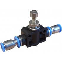 Flow Control Valve with 6mm OD Fittings