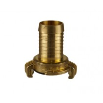 "Geka Brass Coupling with1"" Hosetail"