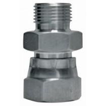 Zinc Plated M/F Adaptor