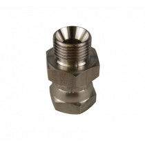 Stainless Steel Adaptor M/F BSP