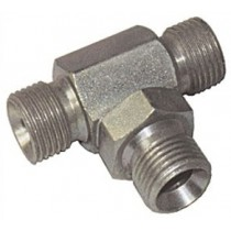 Stainless Steel Adaptor Hex Tee M/M/M BSP