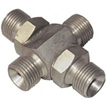 Zinc Plated M/M/M/M Cross