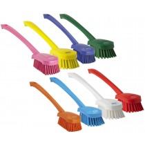 Vikan Hard Long Handle Washing Brush