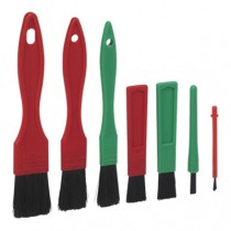 Vikan Soft Detail Brushes Set of 7