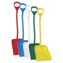 Vikan Shovel - Short Handle - Large Blade