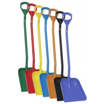Vikan Ergonomic Shovel - Long Handle - Large Blade