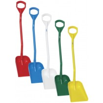 Vikan Ergonomic Shovel - Short Handle - Small Blade