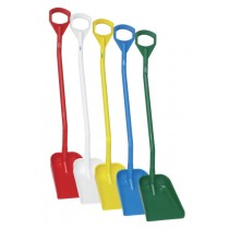 Vikan Shovel - Long Handle - Small Blade
