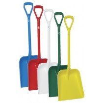 Vikan Shovel D Grip - Short Handle - Large Deep Blade