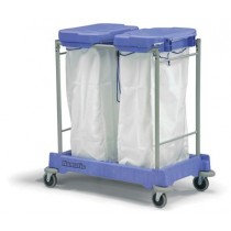 Twin Bag Laundry Trolley