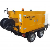 Commando 7500 High Pressure Jetting Unit