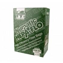 Numatic NVM-1CH Vacuum Bags Pack 10