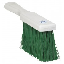 Vikan Resin Set Bench Brush - Soft - Green